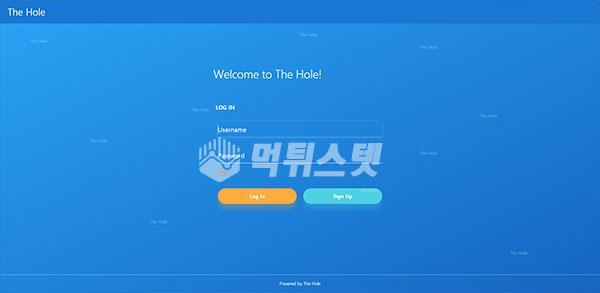 토토사이트 더홀 THEHOLE 먹튀검증 완료 - 먹튀사이트로 판정