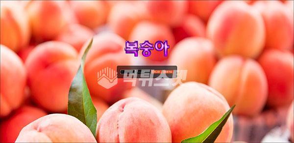 토토사이트 복숭아 먹튀검증 완료 - 먹튀사이트로 판정